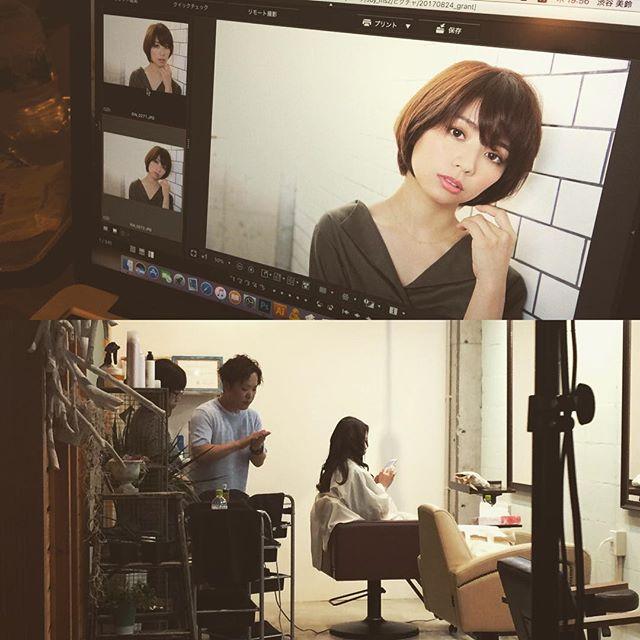大阪市東淀川区・上新庄にある美容室【grant】様の撮影。お客様にご提案されるヘアスタイルを事前にイメージされ、シンプルだけど第三者目線のヘアスタイルを撮影されています。撮影の目的がしっかりされているので、内容がブレないところが素敵です。次回も宜しくお願い致します!!! #美容室 #美容師 #集客 #求人 #撮影 #撮影教育 #デザイン #Design #itbrain #アイティブレイン #photo #creative #モデル #サロモ #instalike #instagood #instadaily #大阪市東淀川区 #東淀川区 #上新庄 #grant #グラント